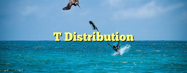 T Distribution
